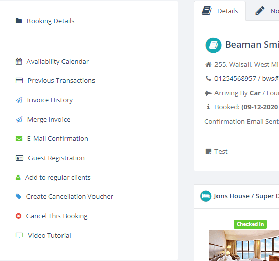 Booking Management System