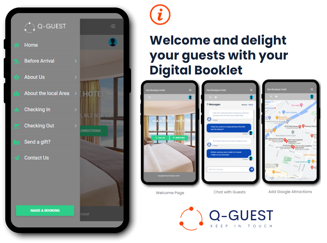 Free Guest Welcome App